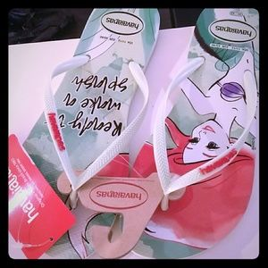 Havaianas Shoes - Flip flop sandals Havaianas- little mermaid